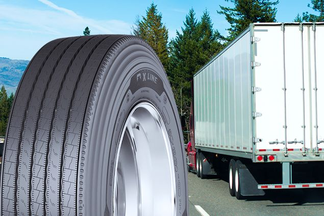 Michelin new truck tire march2