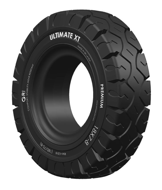 GRI Ultimate XT forklift tire