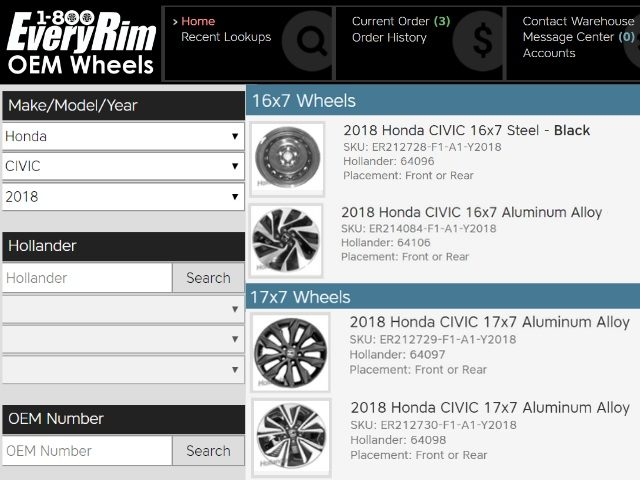 1-800EveryRim Has New Website for Online Orders