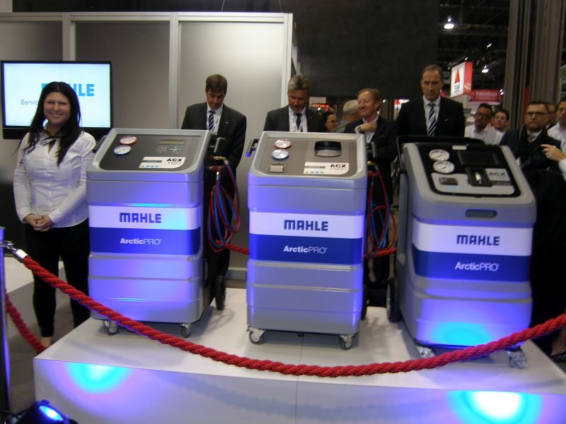 2015 AAPEX: Mahle Expands A/C Service Equipment Line