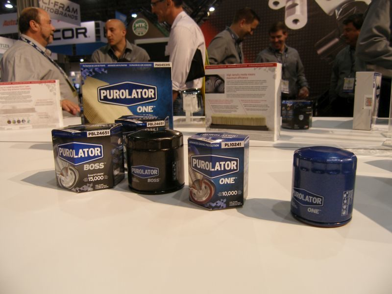 2015 AAPEX: New Products Are Part of Purolator Brand Relaunch