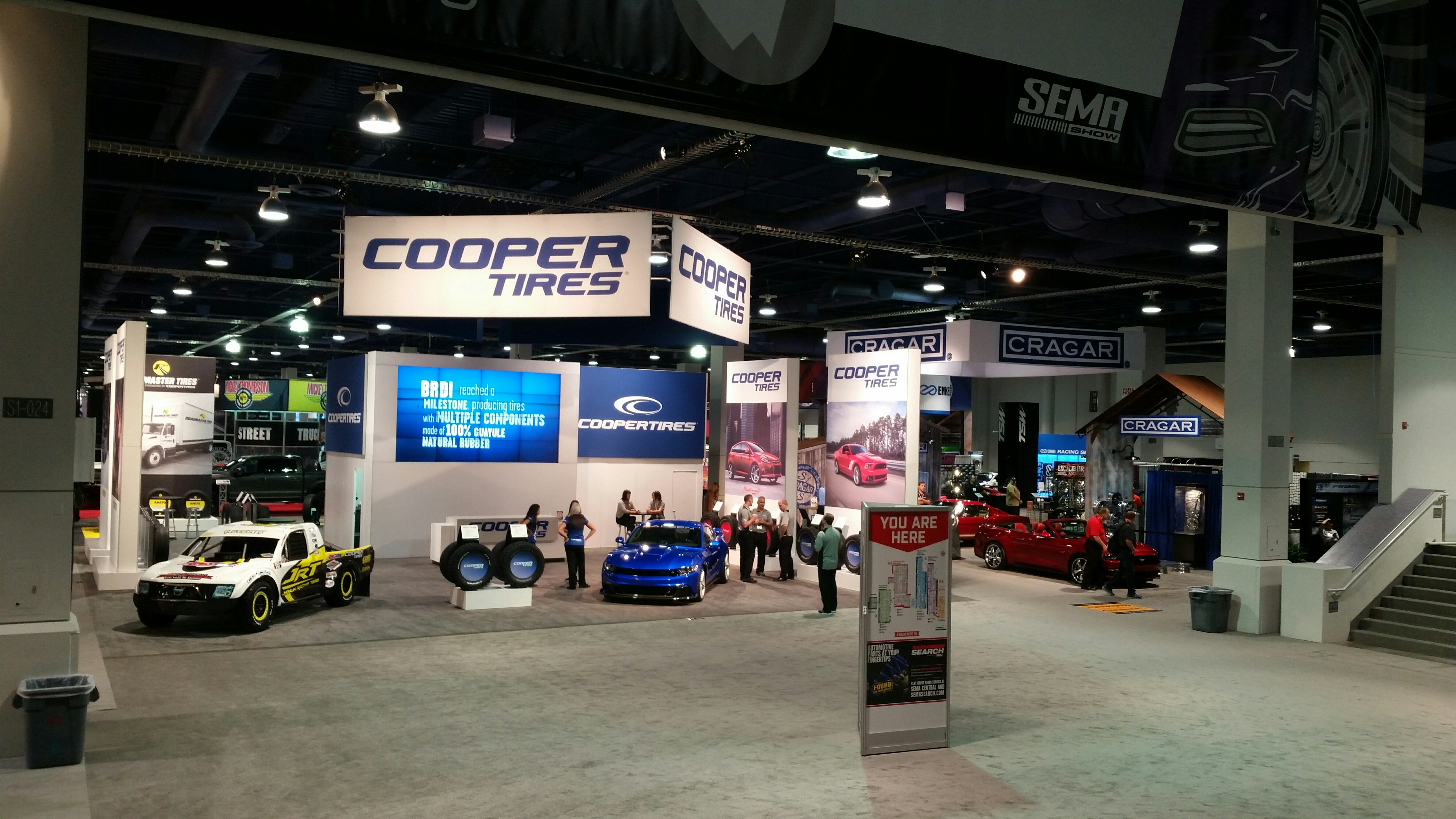 2015 SEMA Show, Day 1: Cooper Showcases Key Product Lineup