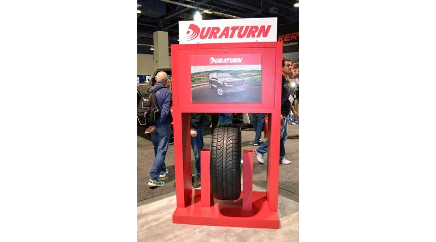 2015 SEMA Show, Day 1: Look for Duraturn Brand Passenger Tires in U.S.