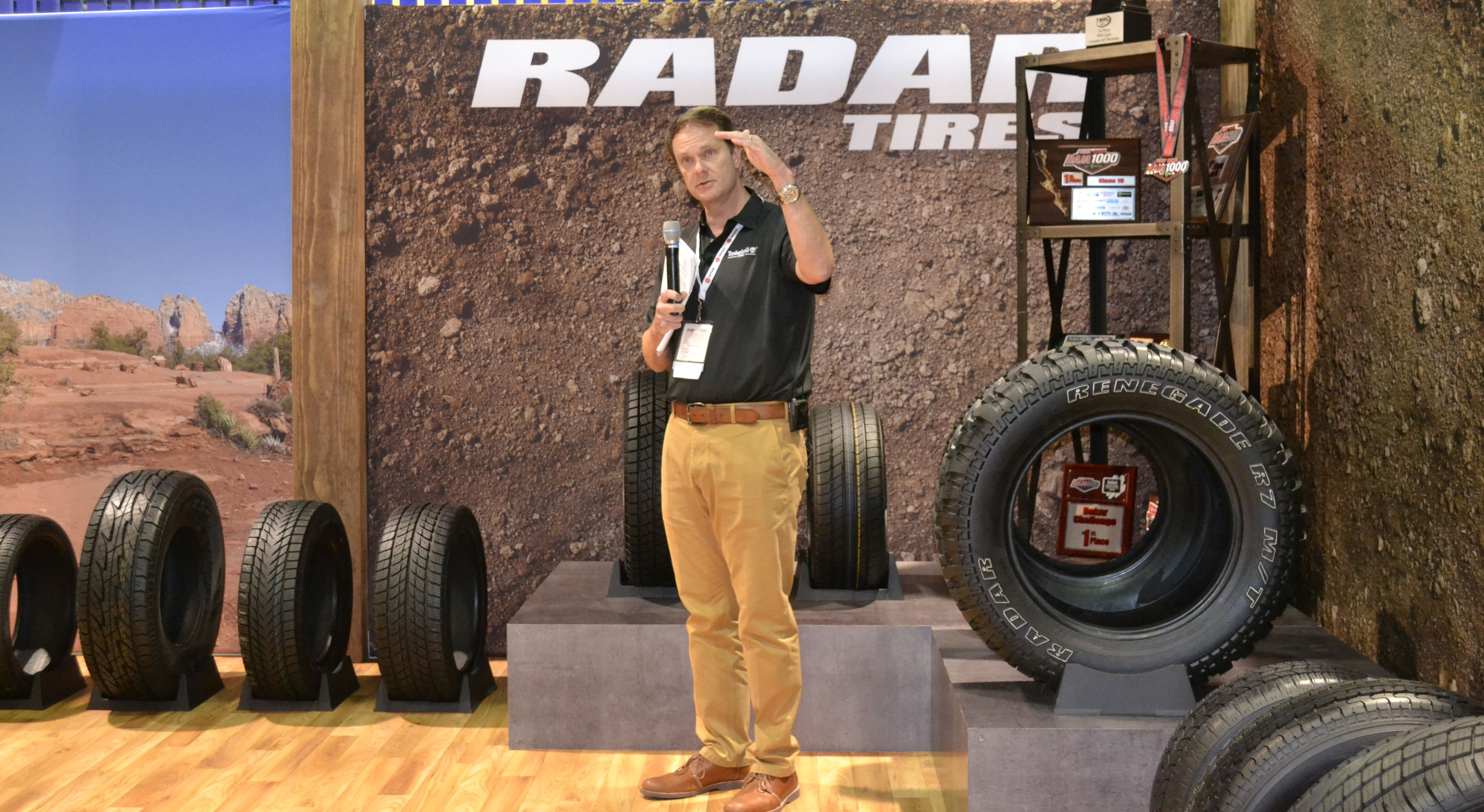 2015 SEMA Show, Day 3: M/T and Winter Tires from Omni-United
