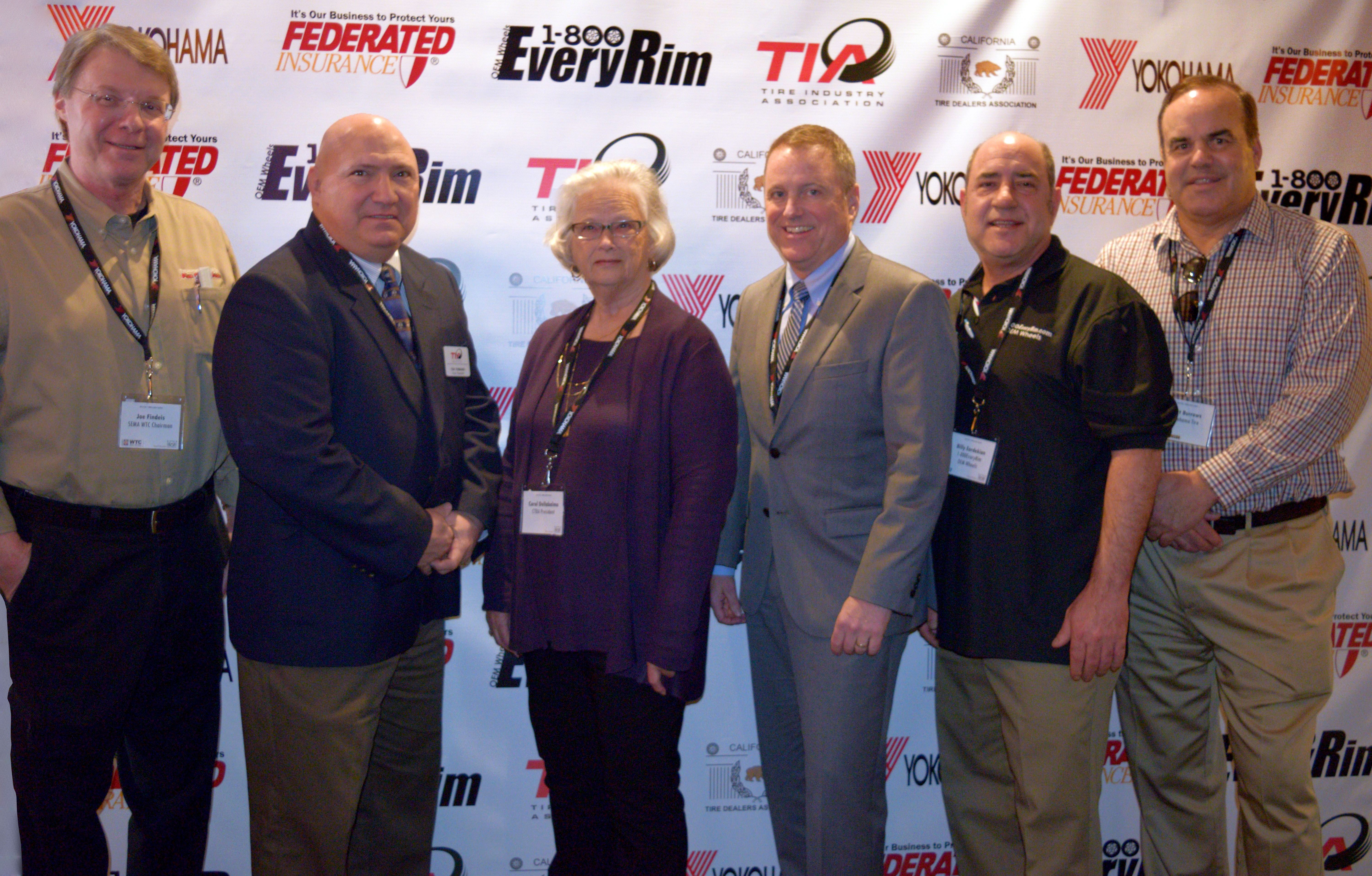 77 Dealers and Vendors Attend California Tire Event