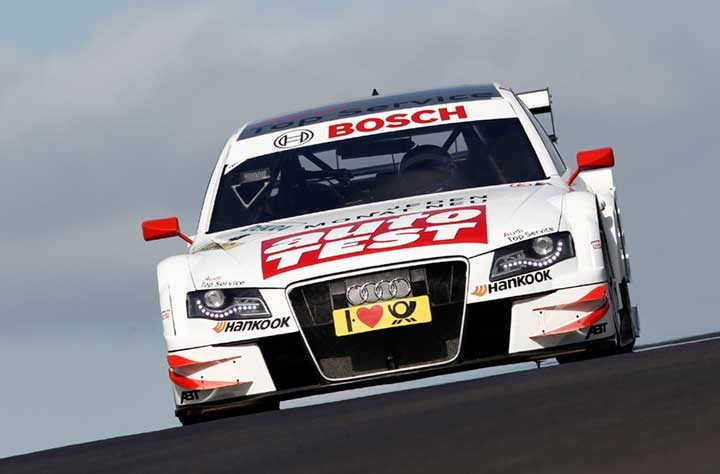 A round affair for Mike Rockenfeller and Hankook