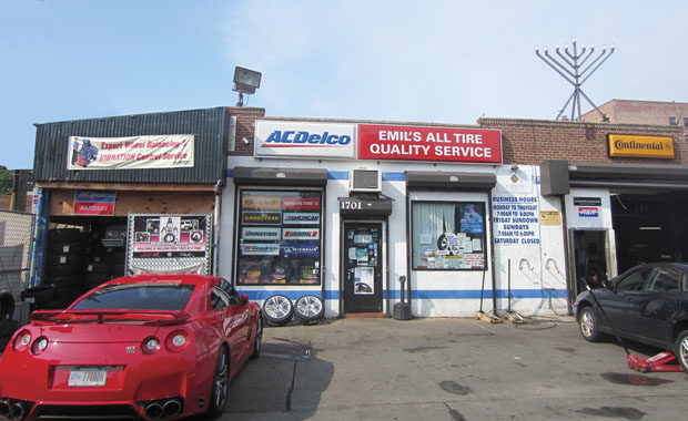 A tire store grows in Brooklyn