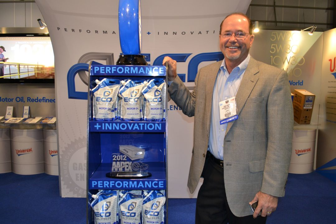 AAPEX, Day Four: Universal Lubricants has it in the bag