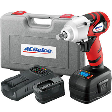 ACDelco Adds Li-ion 18V Impact Wrench