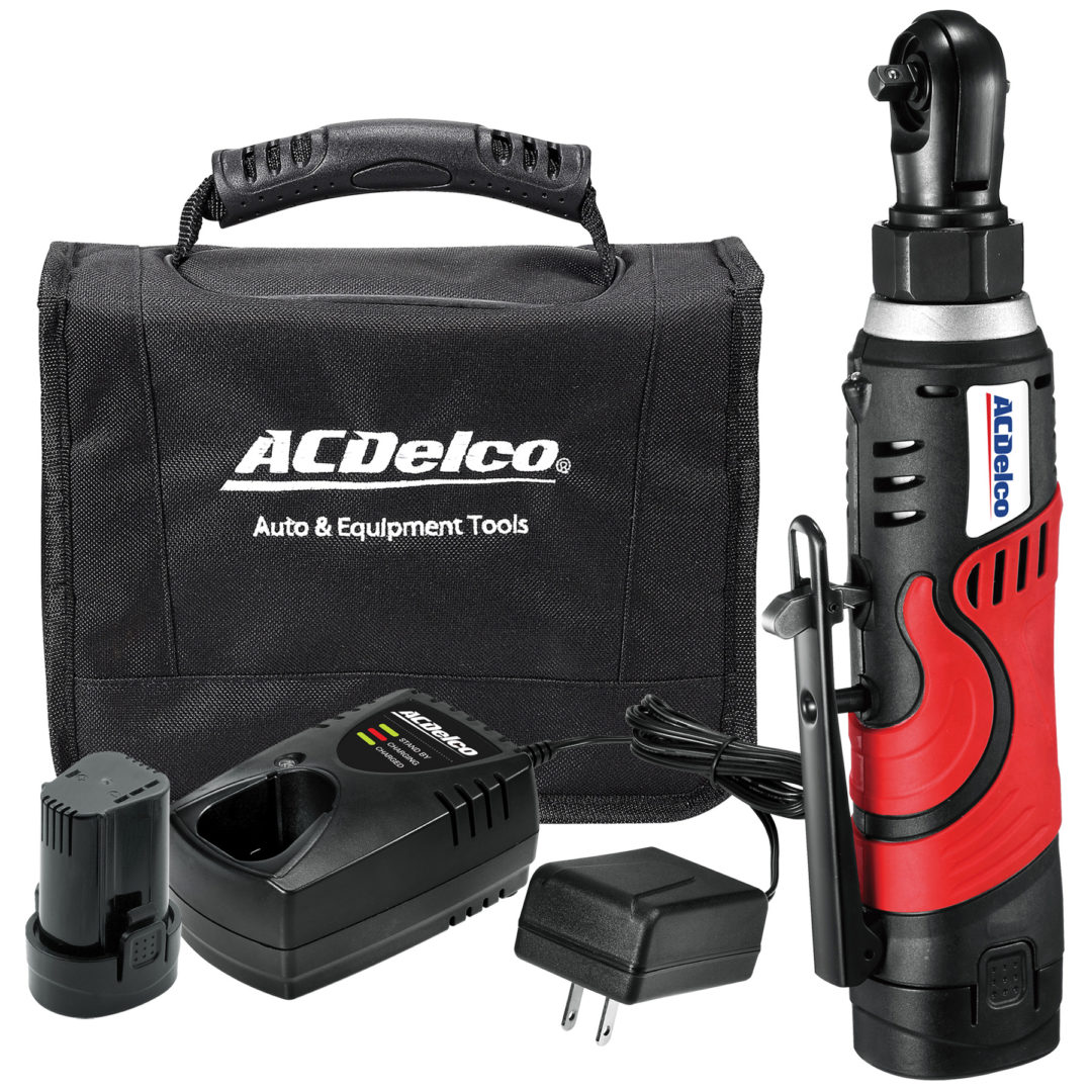 ACDelco-Licensed Tool Line Adds Li-ion 8V 1/4-inch Ratchet Wrench