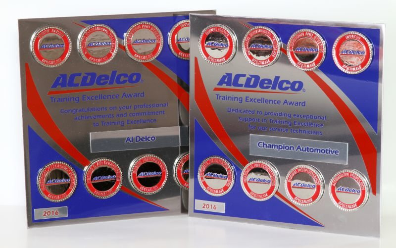 ACDelco recognizes techs for training