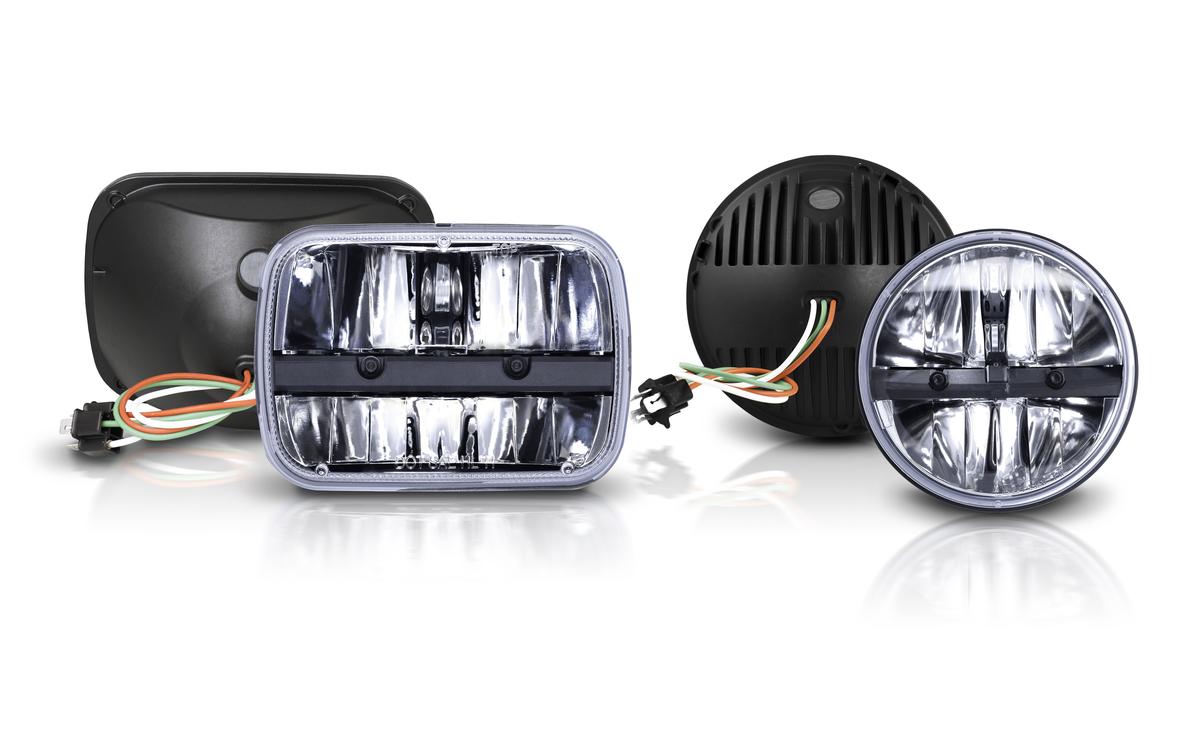 Advanced tech in replacement Philips headlamps