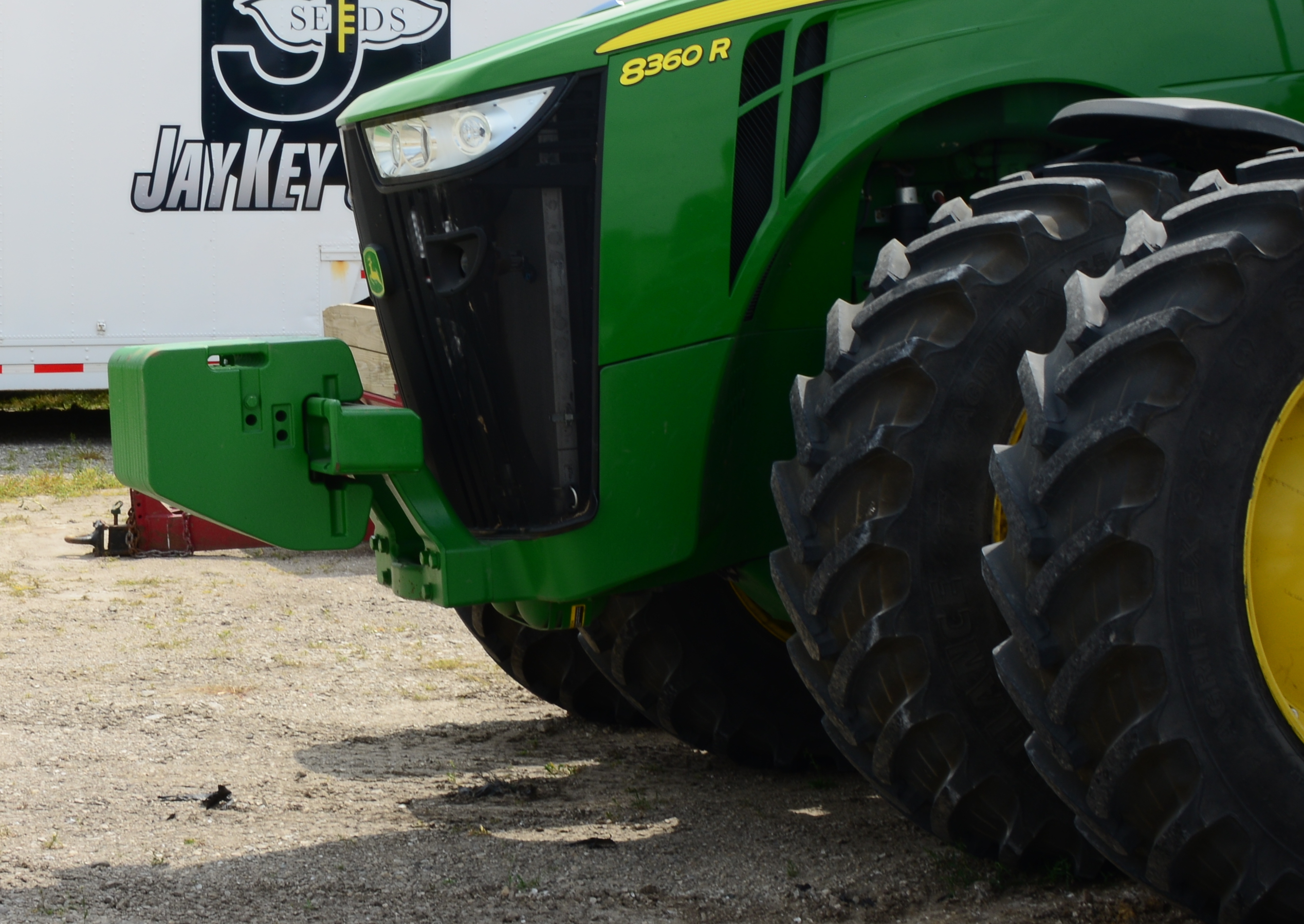 AG Tire Talk: Proper Tractor Ballast for Improved Traction and Reduced Slippage