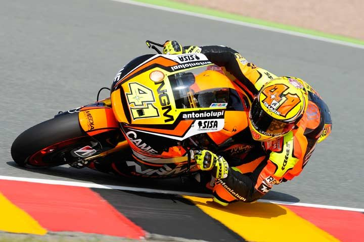 Aleix Espargaro tops tightly-packed field in Sachsenring Friday practice