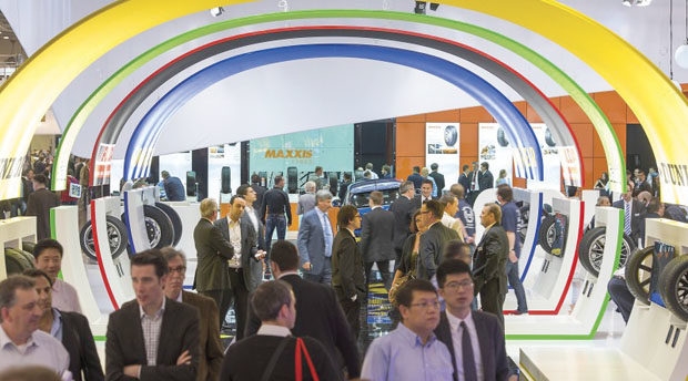 All Aboard the Magic Roundabout of Tire Show Europe!