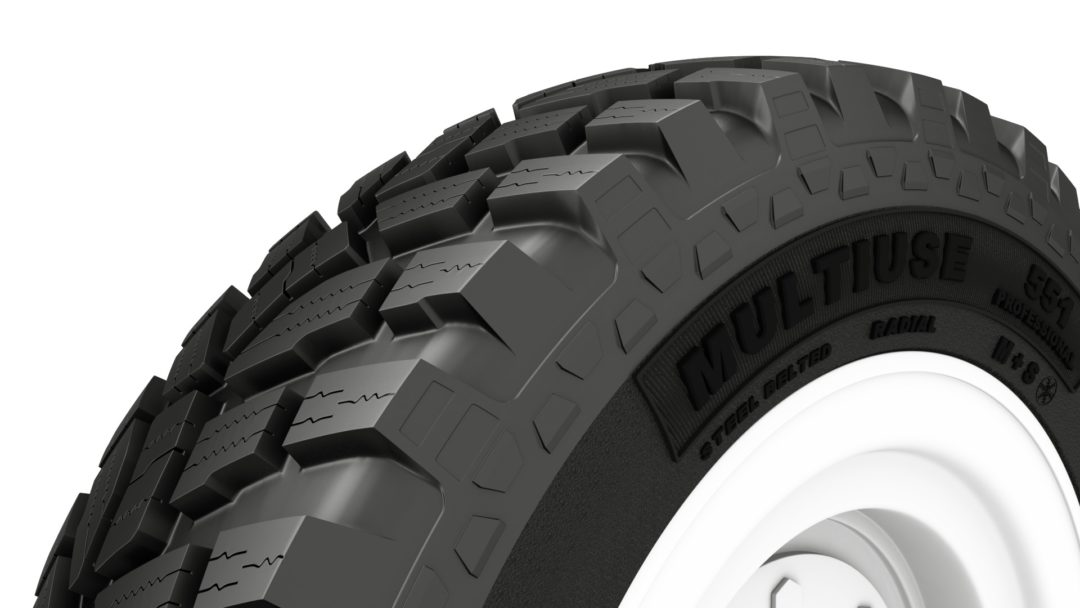 Alliance Has New Snow Tire for MFWA Tractors