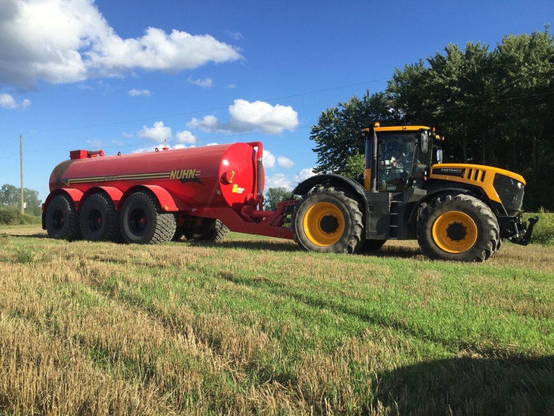 Alliance's New Flotation Tires Are Fitted to Latest Model Manure Tanks