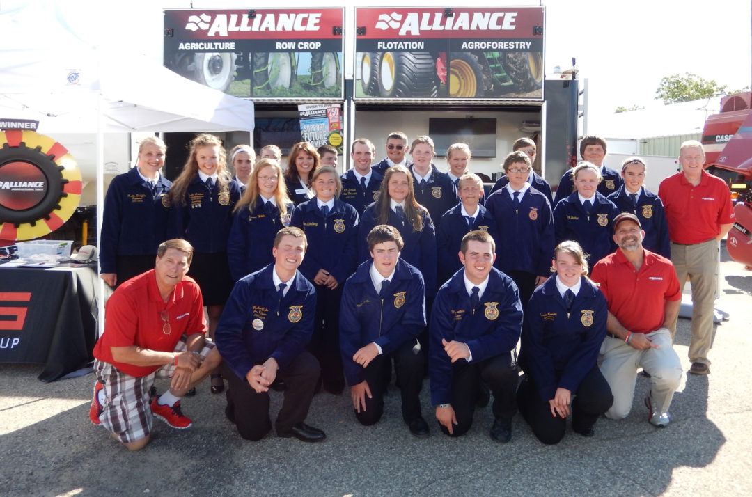 Alliance Tire Americas supports young farmers