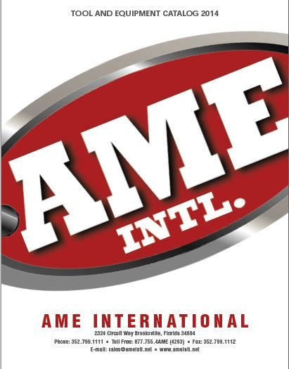 AME introduces 2014 equipment catalog