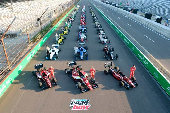 Americans Pigot, Alberico and Eidson lead the way to Indianapolis