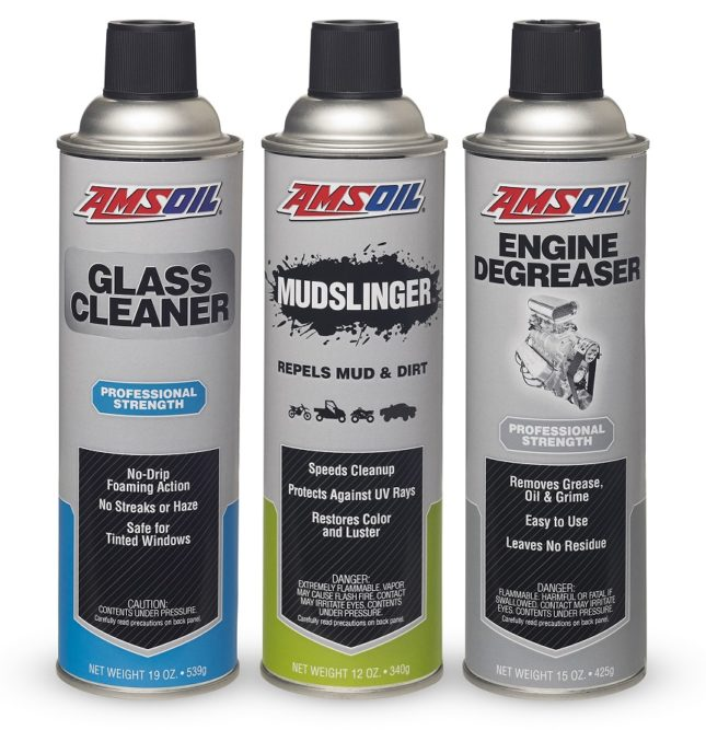 Amsoil Has 3 New Aerosol Cleaning Articles