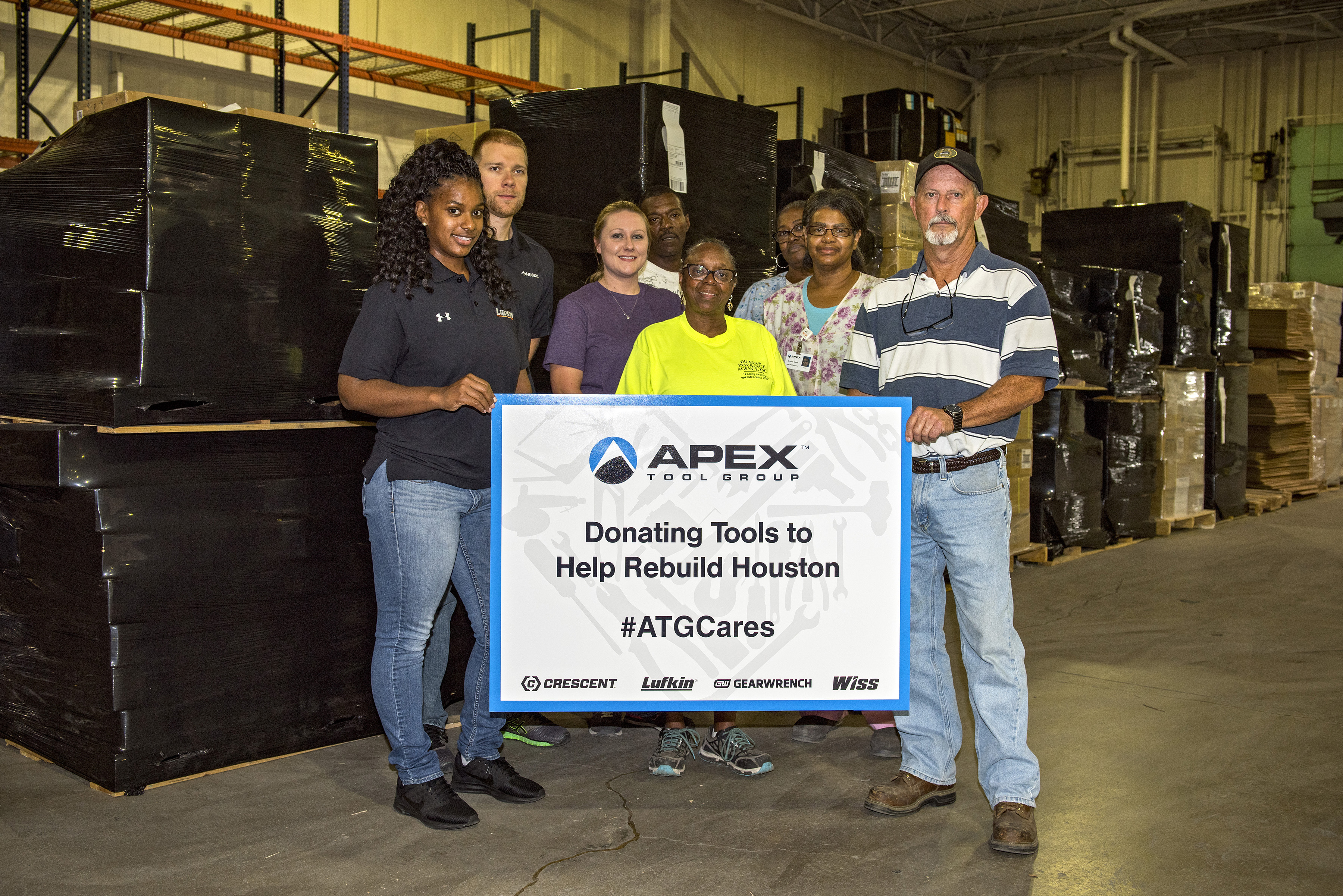 Apex Tool Group Provides Tools and Warehouse for Hurricane Relief