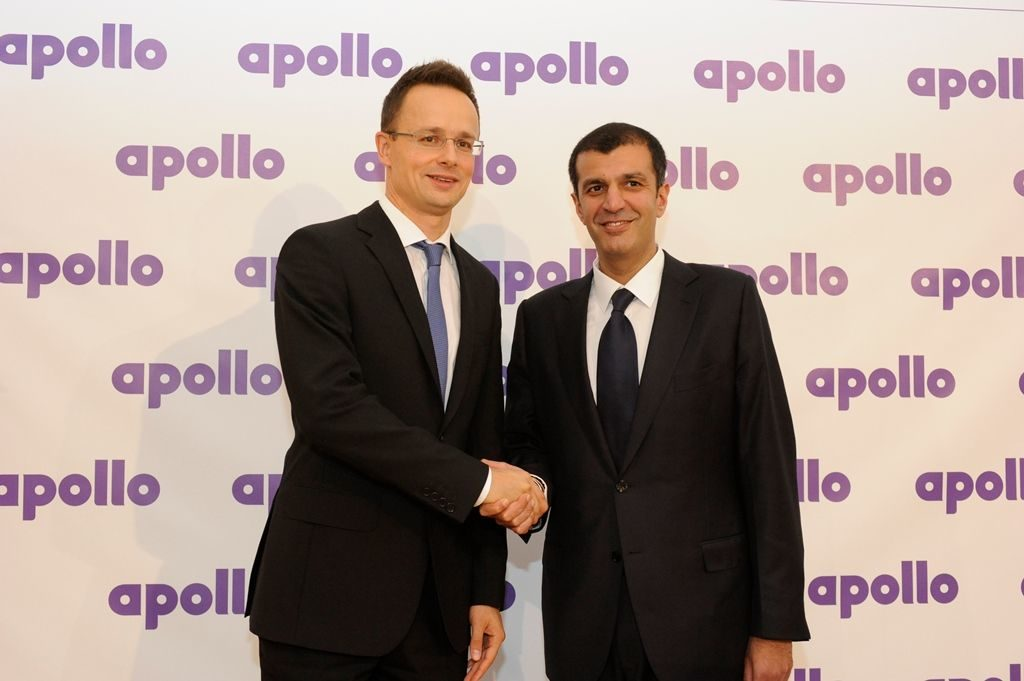 Apollo chooses Hungary for plant site