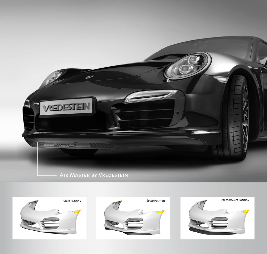 Apollo creates front spoiler for Porsche