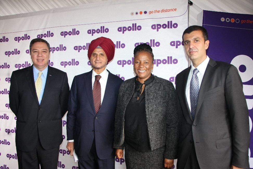 Apollo opens component prep unit in S. Africa