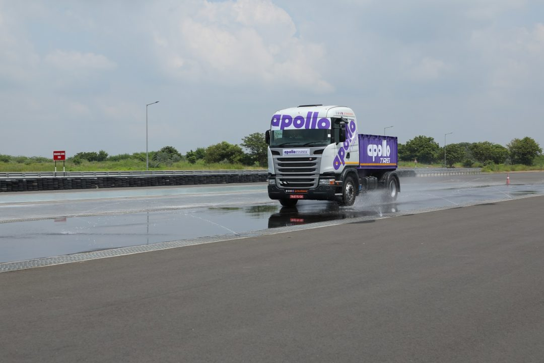 Apollo Tyres Helps Establish First Tire Test Track in India