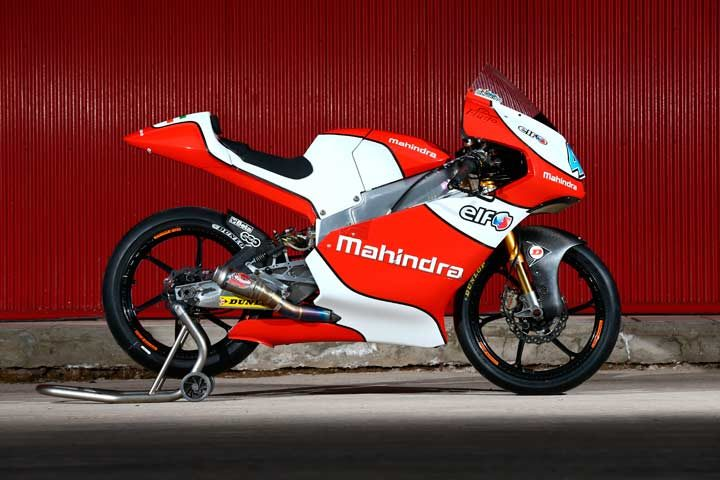 Aspar team to race in Moto3 with Mahindra