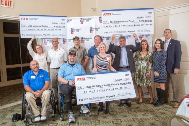 ATD Donates $270,000 to Four Charities