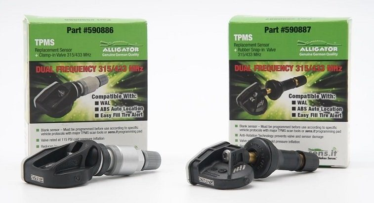 Ateq Adds Alligator Dual-Band Sensor Coverage to Its TPMS Scan Tool