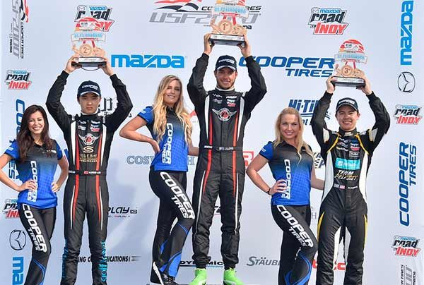 Australia's Jordan Lloyd and China's Yufeng Luo Share Wins In USF2000