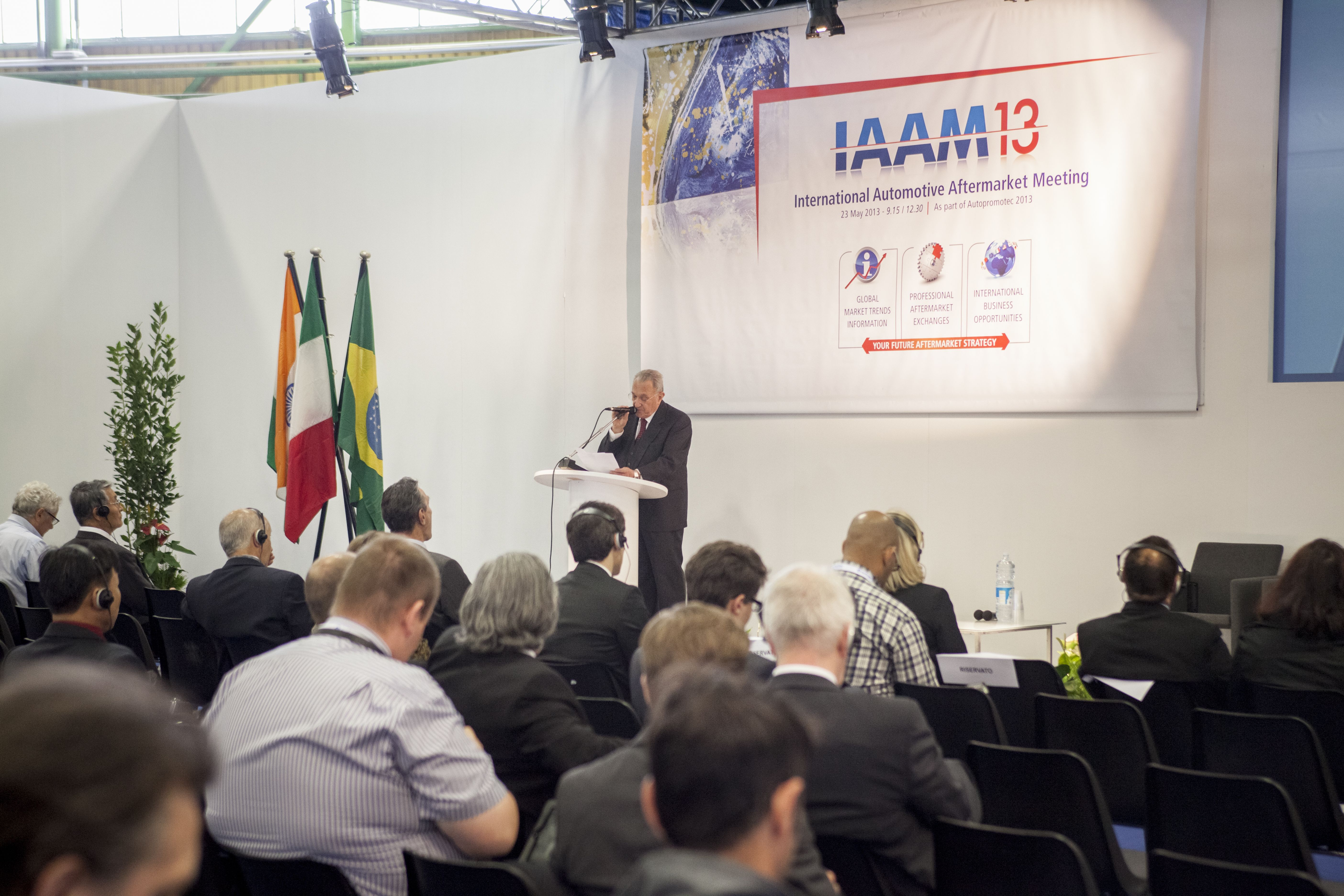 Autopromotec, Day Two: business opportunities outside Europe