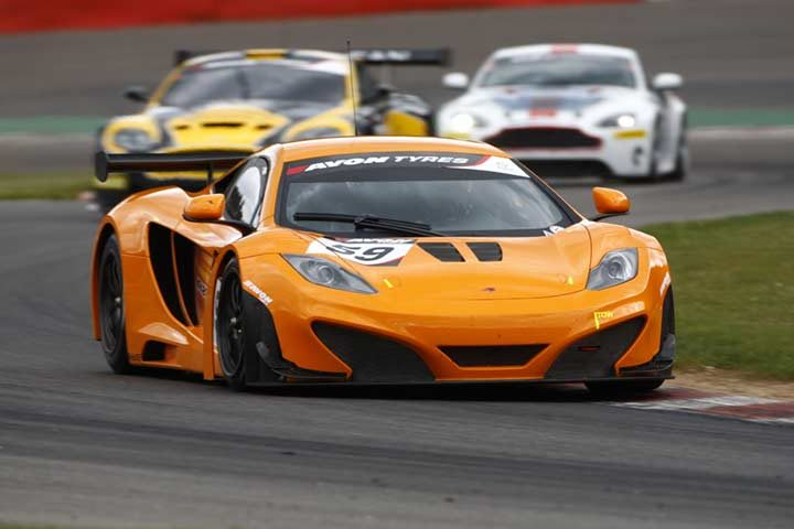 Avon triples Spa 24 Hours presence, with tyres for McLaren GT, Mercedes and Aston