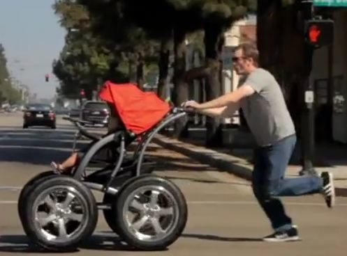 Baby rides on Kumho tires in YouTube video