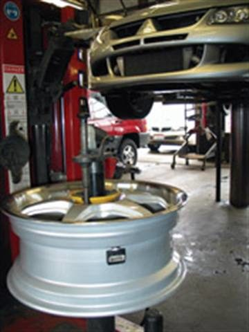 Balancing TPMS assemblies: The basics still apply, but what about that added weight?