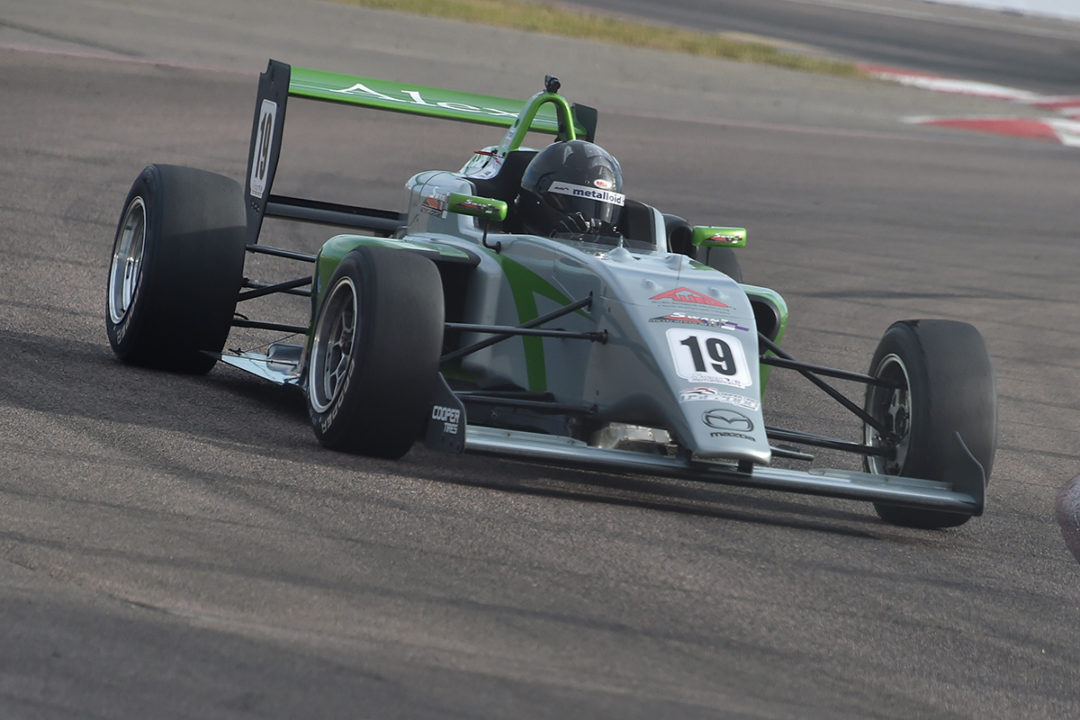 Baron Marks USF2000 Return With Emphatic Win