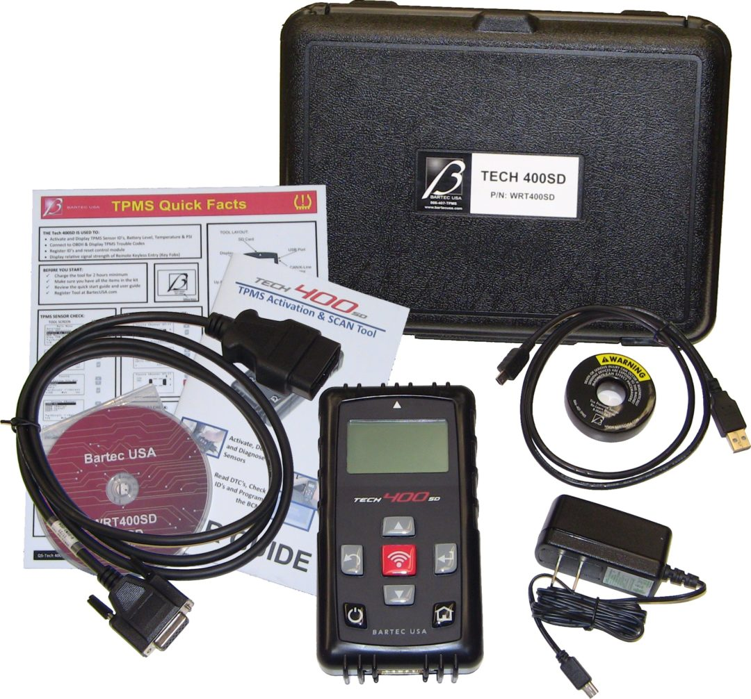 Bartec releases software updates for TPMS tool