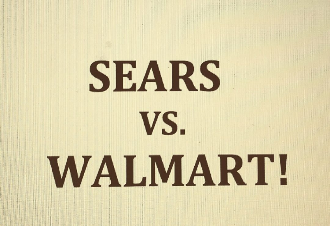 Battle for Tire Sales Pits Sears against Walmart