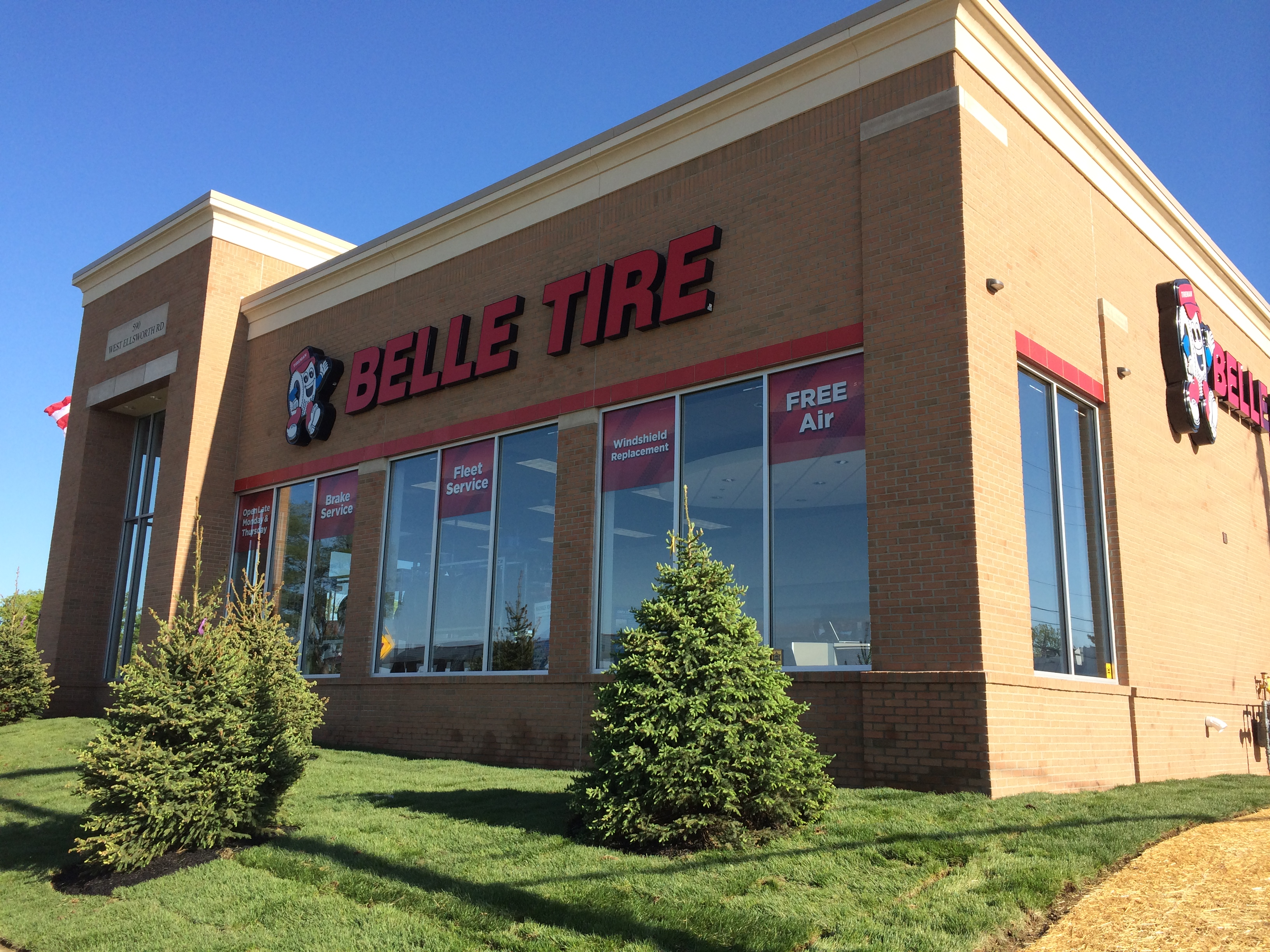 Belle Tire adds outlet in Michigan
