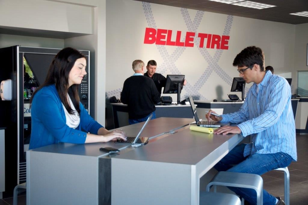 Belle Tire proceeds with renovations