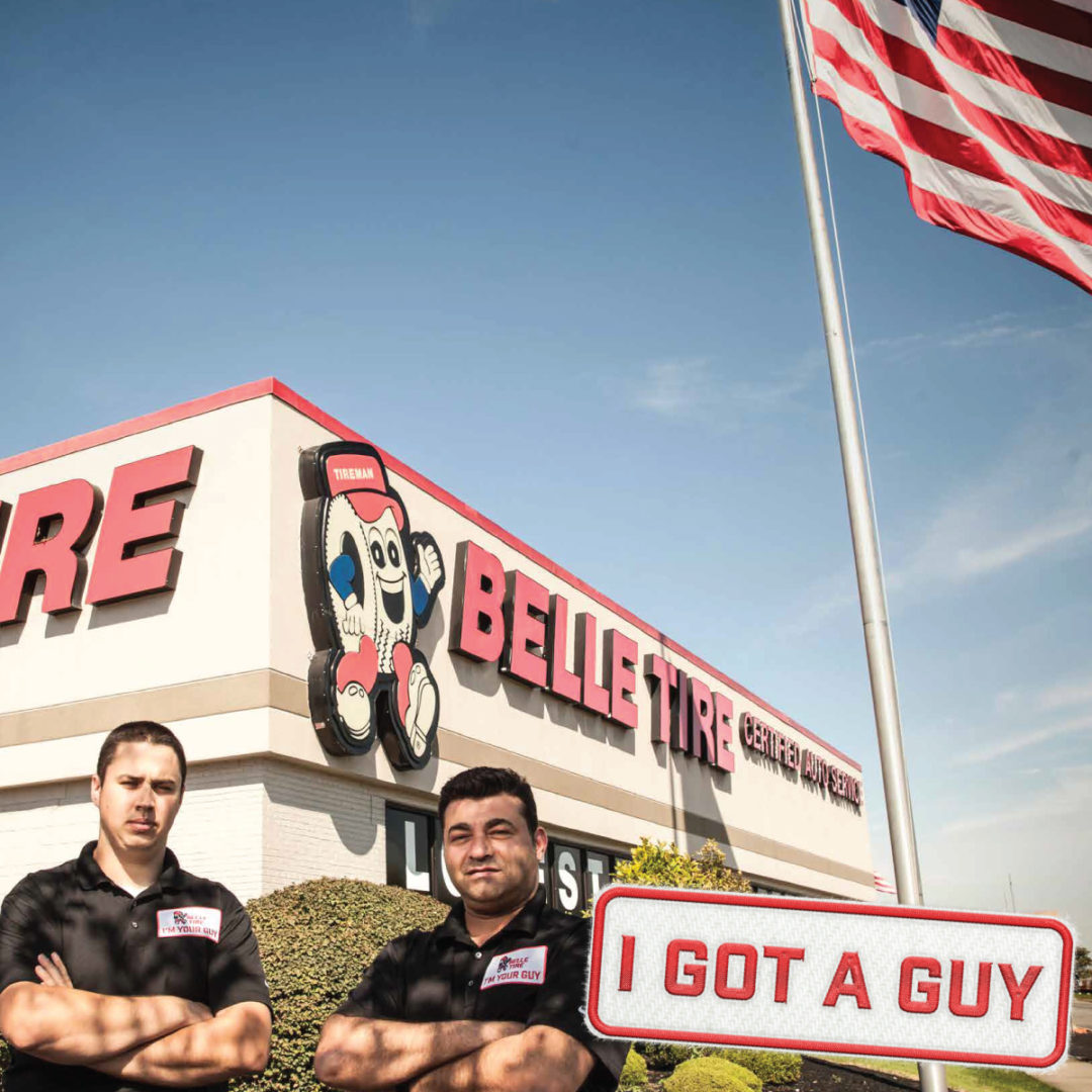 Belle Tire Rebrands as 'My Guy' for Tires and Auto Care