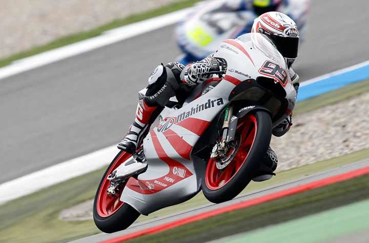 Best ever qualifying for Mahindra at Assen