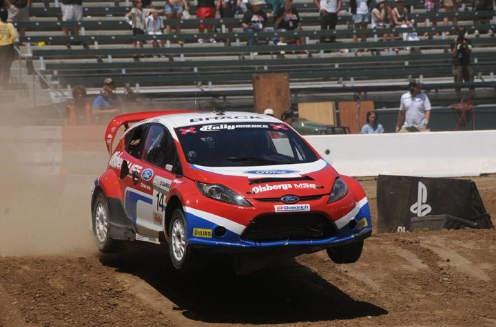 BFGoodrich takes X Games rally gold; sweeps podium