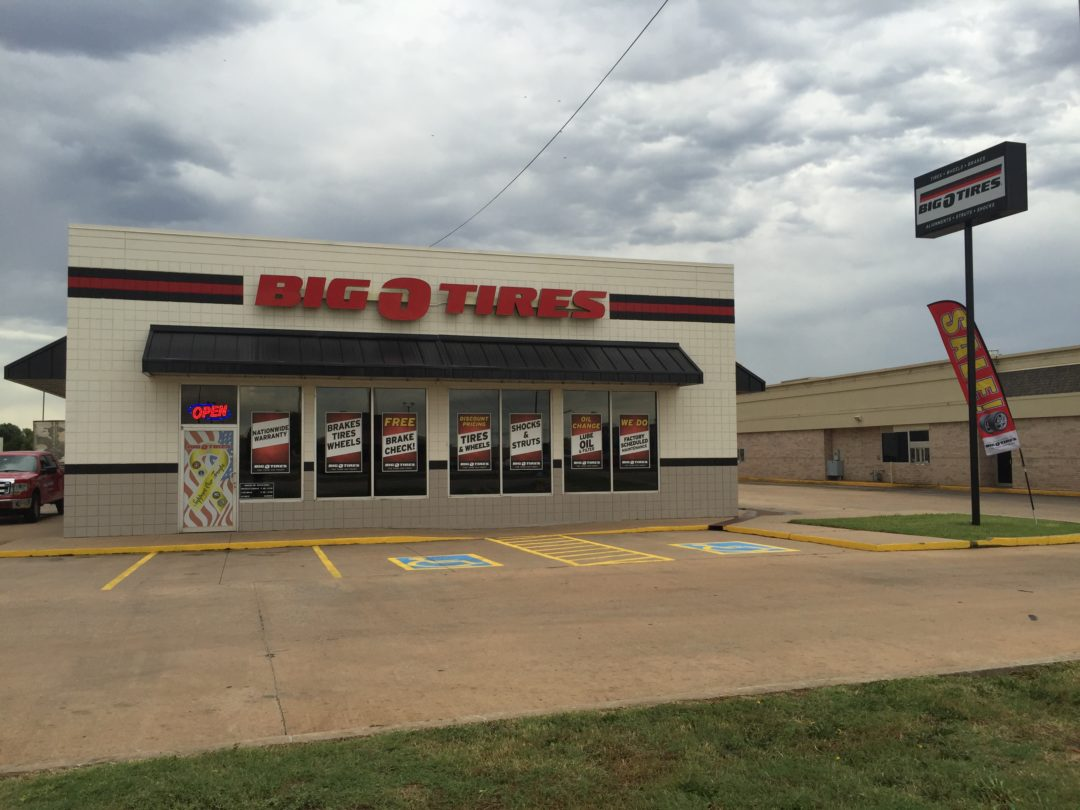 Big O Tires Reopens in Enid, Oklahoma