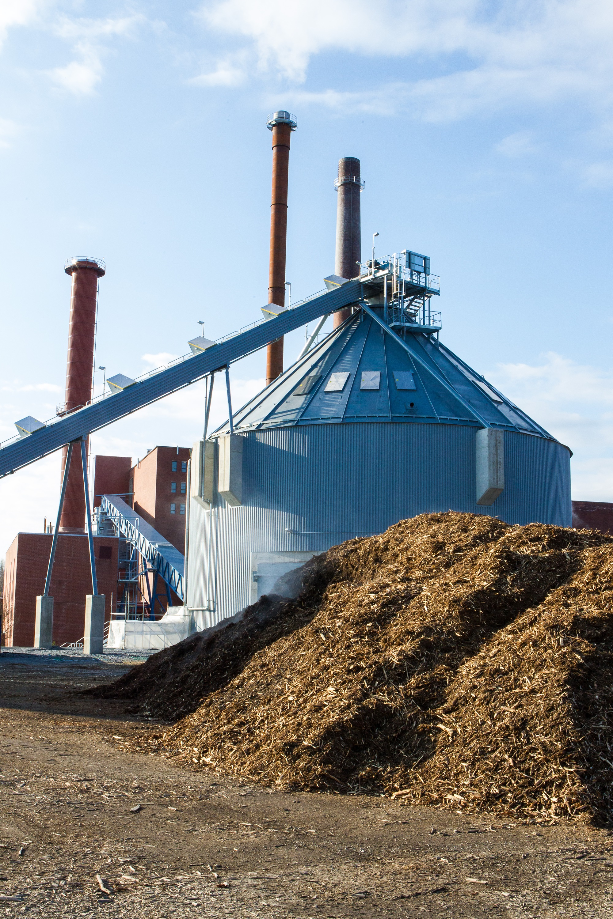 Biomass Power Plant Opens With Nokian's Investment