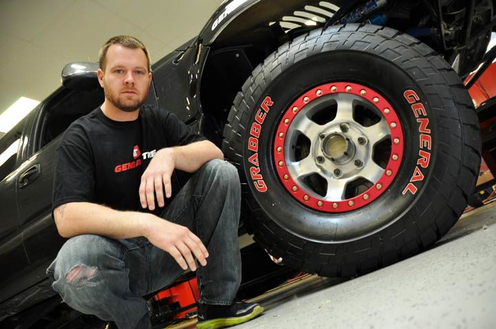 BJ Baldwin to represent Team General Tire in Germany