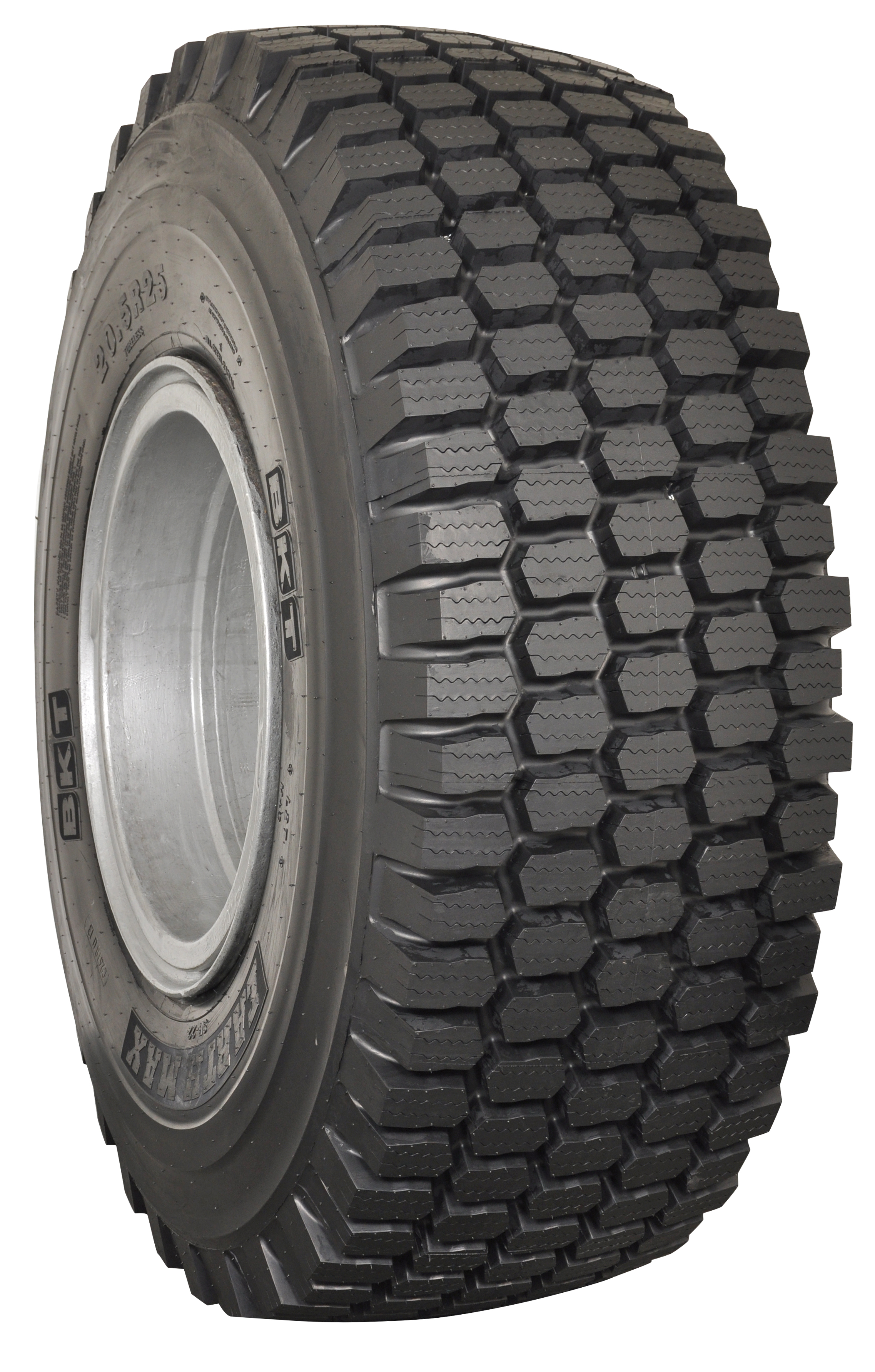 BKT debuts mud and snow OTR tire